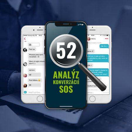 52 analýz konverzácií SOS