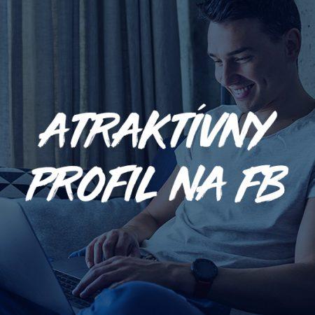 Atraktívny profil na Facebooku
