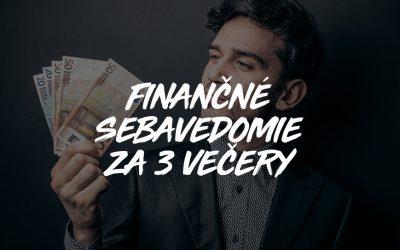 Finančné sebavedomie za 3 večery